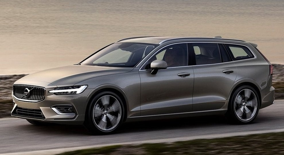 Nouveau break Volvo V60