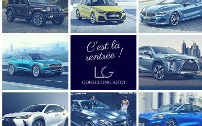 NOUVEAUTÉS AUTOMOBILES DE LA RENTRÉE 2018
