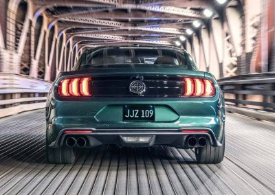 Ford Mustang Bullitt 2018 vues intérieures et extérieures